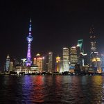 子連れ上海旅行 外灘夜景