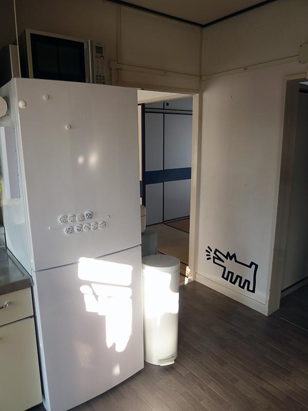 団地あるある 冷蔵庫