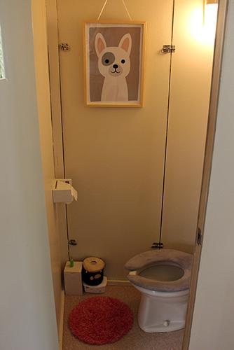 団地のトイレ