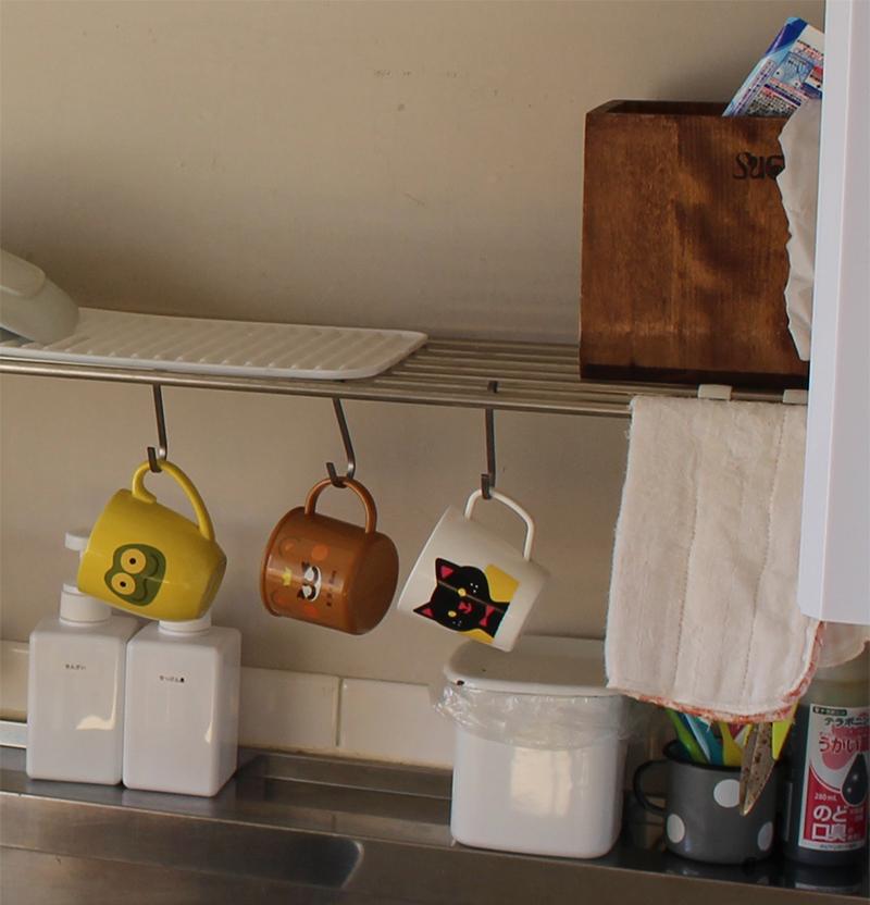 団地のキッチン収納