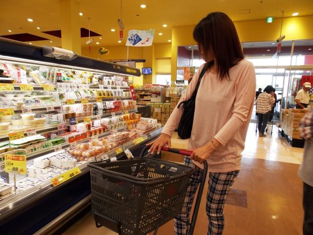コンビニではなくスーパーで購入する節約行動